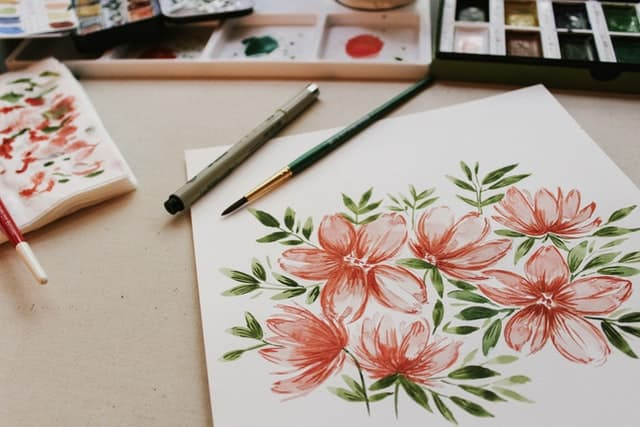絵 を 描く 夢